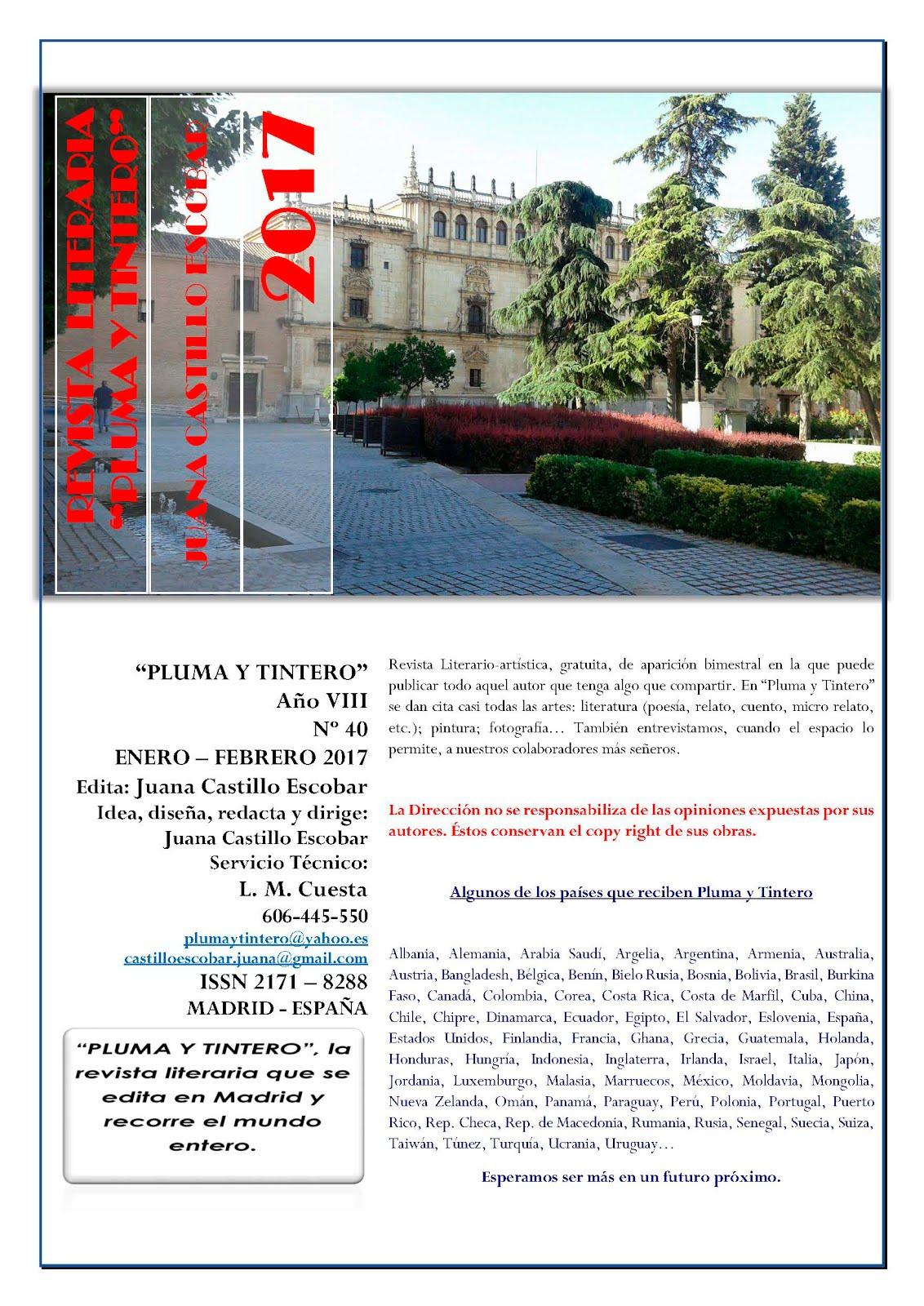 Nº 40 - Enero-Febrero 2017 - Traducción al castellano de un poema de Emanuele Cilenti