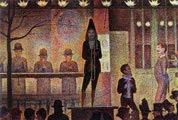 Georges Seurat (29 años) - La parada (1888)