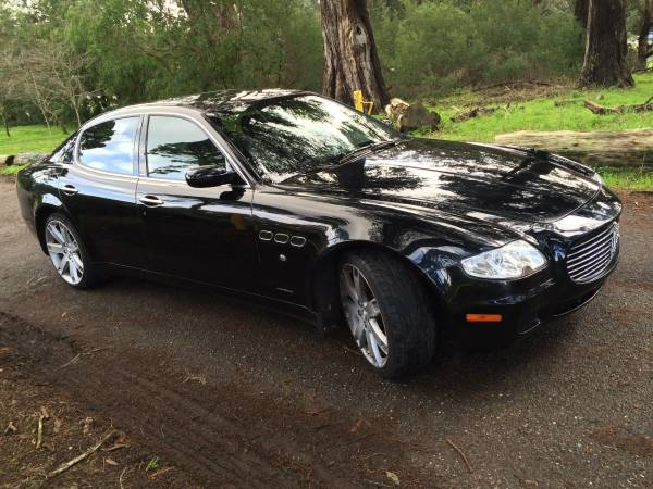 Maserati engine swap