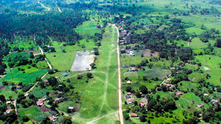 Narco landing strip, Honduras