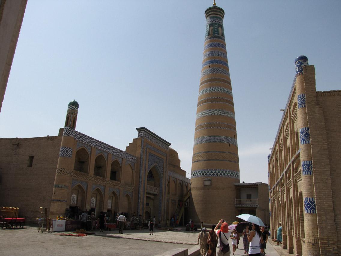 Uzbekistán, Khiva - Mezquita Islam Khodja