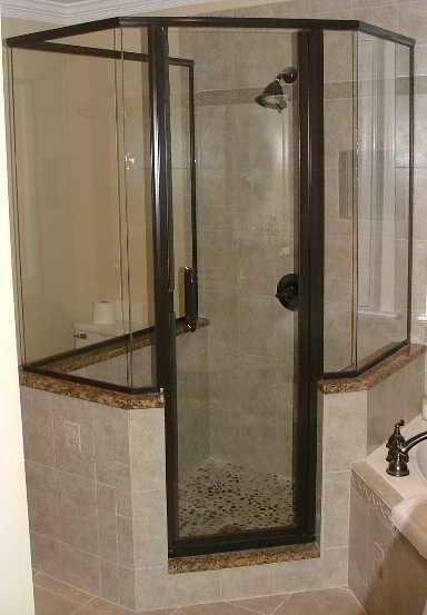 Corner shower for Corner shower bathroom designs