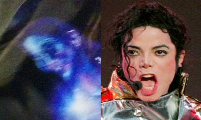 Is this the ghost of Michael Jackson?