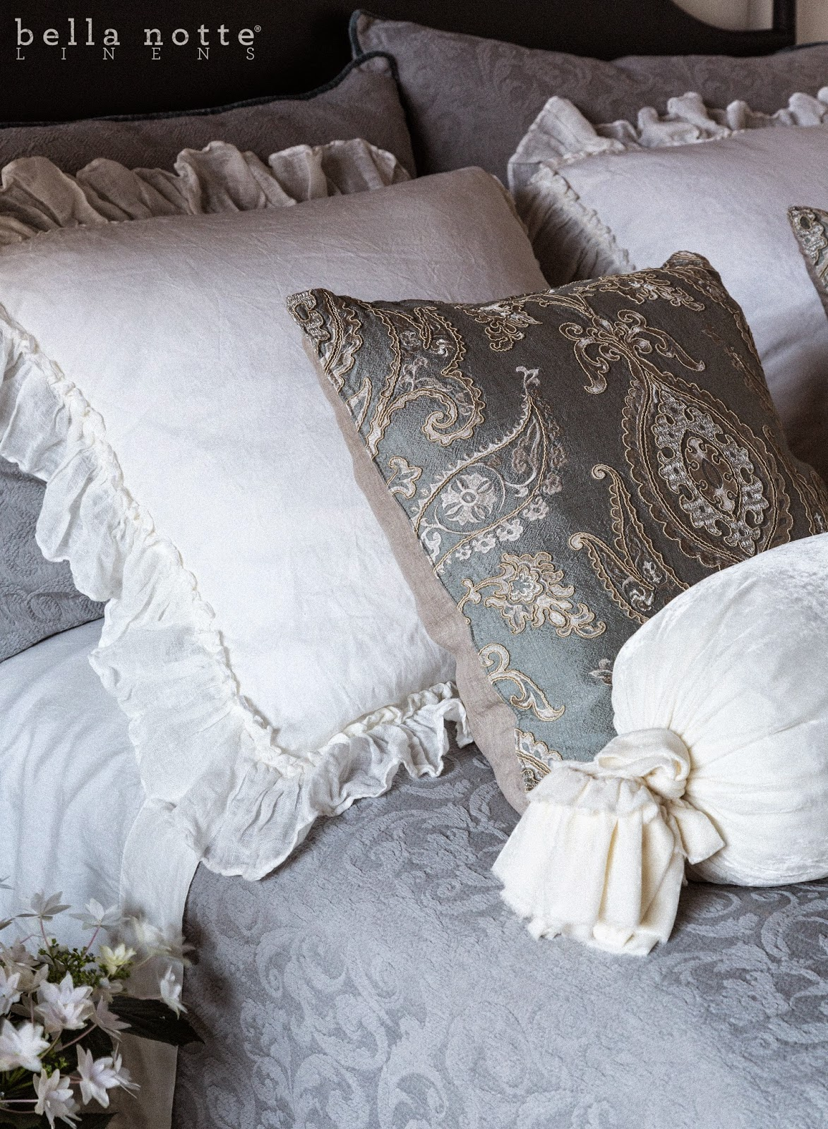 Bella Blog Introducing Winter White A New Bedroom Favorite