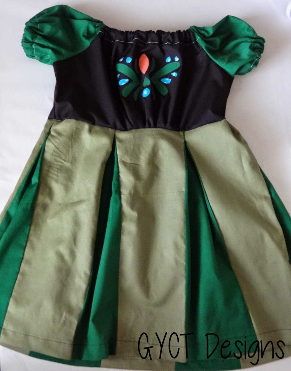 DIY Anna Coronation Dress Tutorial