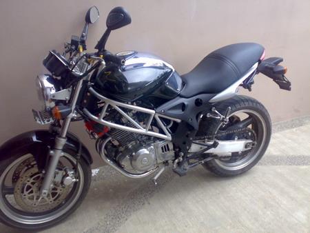 motorcycle modifications suzuki thunder