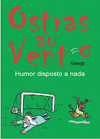 """Livro """"Ostras ao Vento, humor disposto a nada"""""""