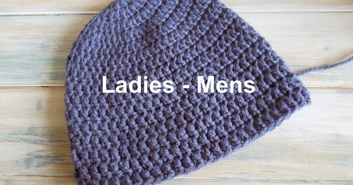 Happy Berry Crochet How To Crochet A Quick And Simple Beanie For