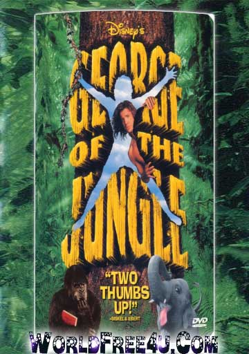 Poster Of George of the Jungle (1997) In Hindi Dubbed 300MB Compressed Small Size Pc Movie Free Download Only At worldfree4u.com