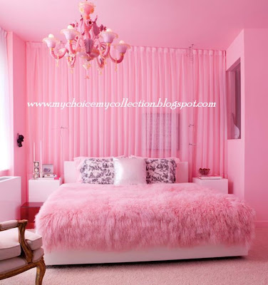 Beautiful Pink Bed Room