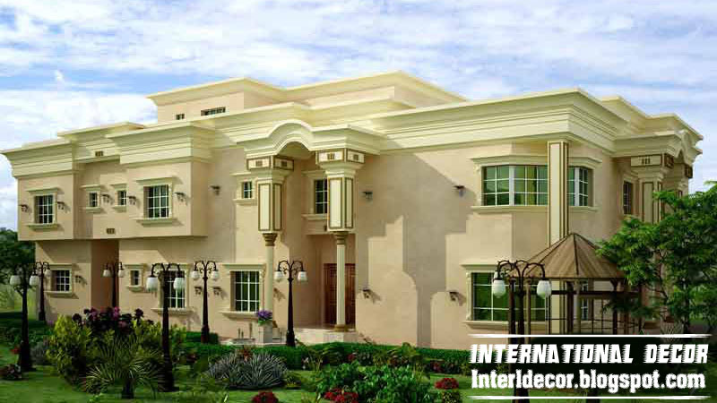 Exterior House Design Ideas glamorous modern house exterior front designs ideas with balcony carport facade house design garden window for Interior Design 2014 Modern Exterior Villa Designs Ideas 2013