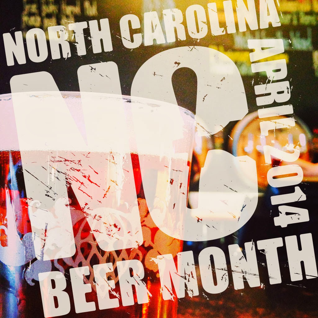 APRIL NC BEER MONTH!