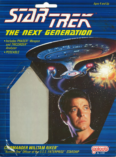 Star Trek The Next Generation - Galoob Series 1 (1988)