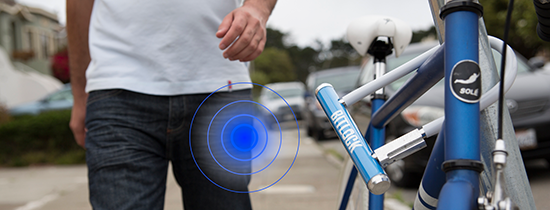 Use Bitlock to lock or unlock bicycle from smart phone