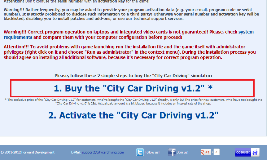 city car driving activation key serial number