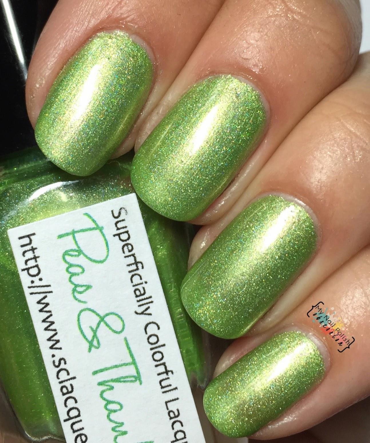 Superficially Colorful Lacquer Peas & Thanks