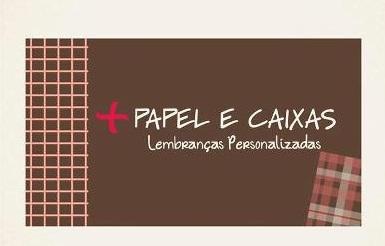 + PAPEL e CAIXAS  - lembranças personalizadas