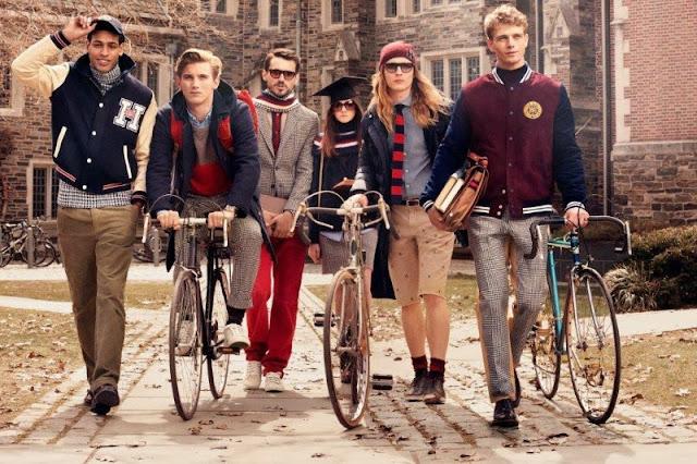 The Hilfigers varsity preppy fashion