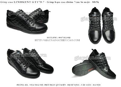 Giày nam Linh Kent GT179. 7