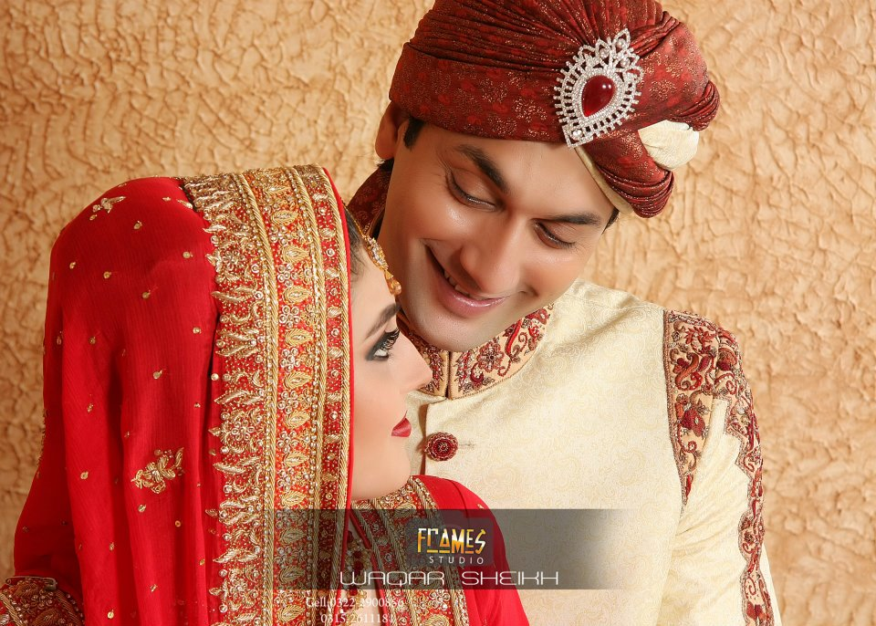 Actor faiq khan and sania effendi beautiful wedding for Roohi bano latest pics