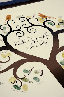 Guest Book Canvas