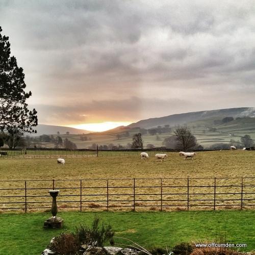 Yorkshire Dales sunrise