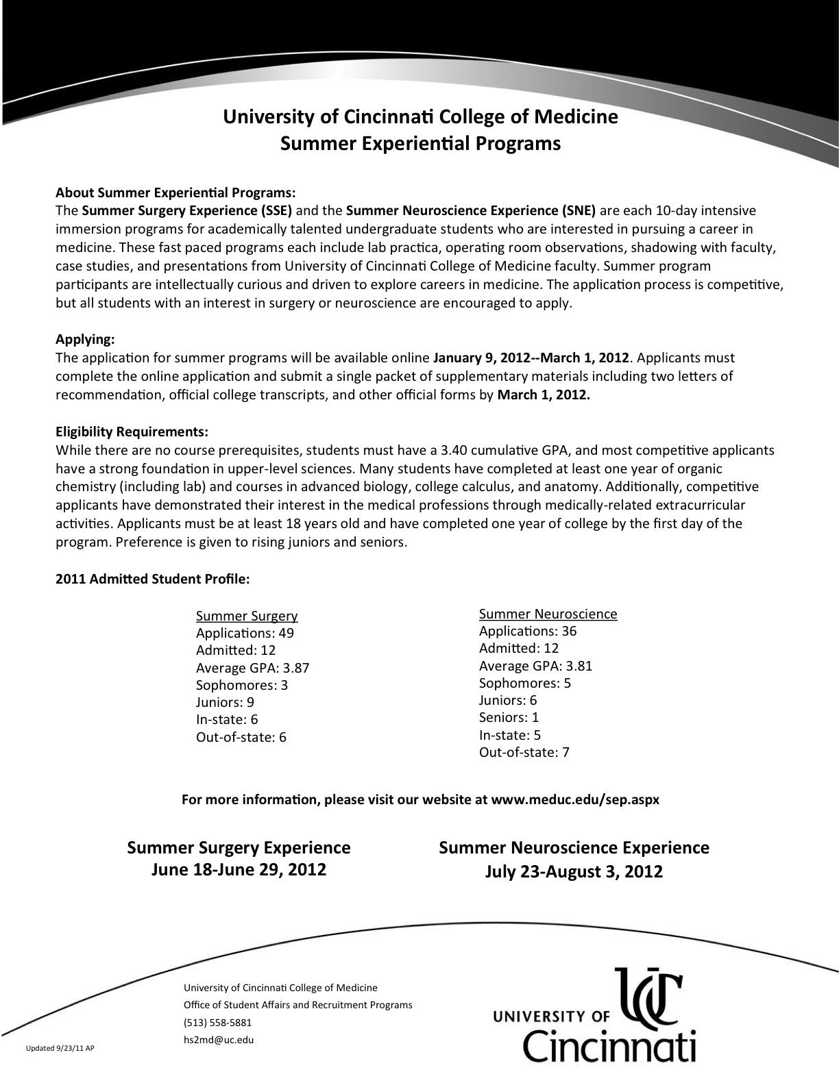 nyu op preprofessional bulletin january 2012