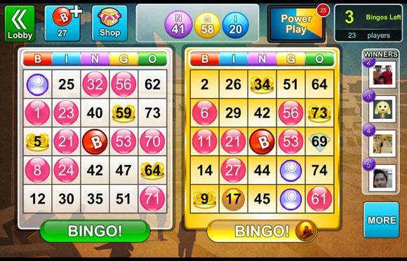 bingo bash games online