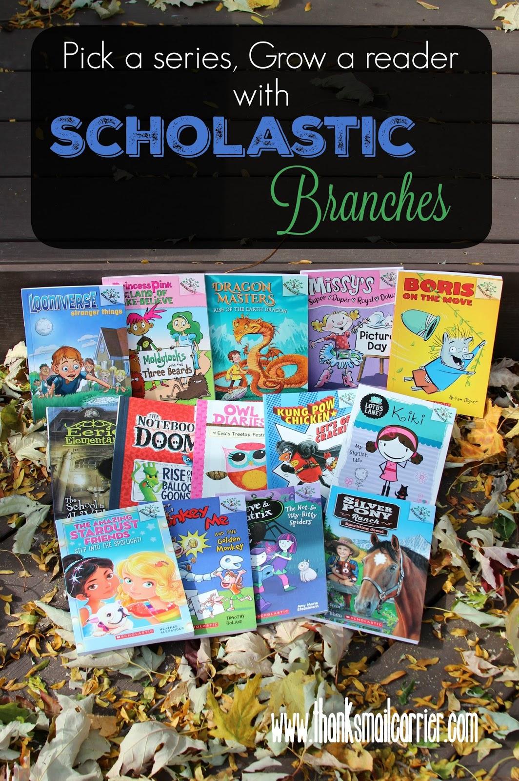 Scholastic Branches books