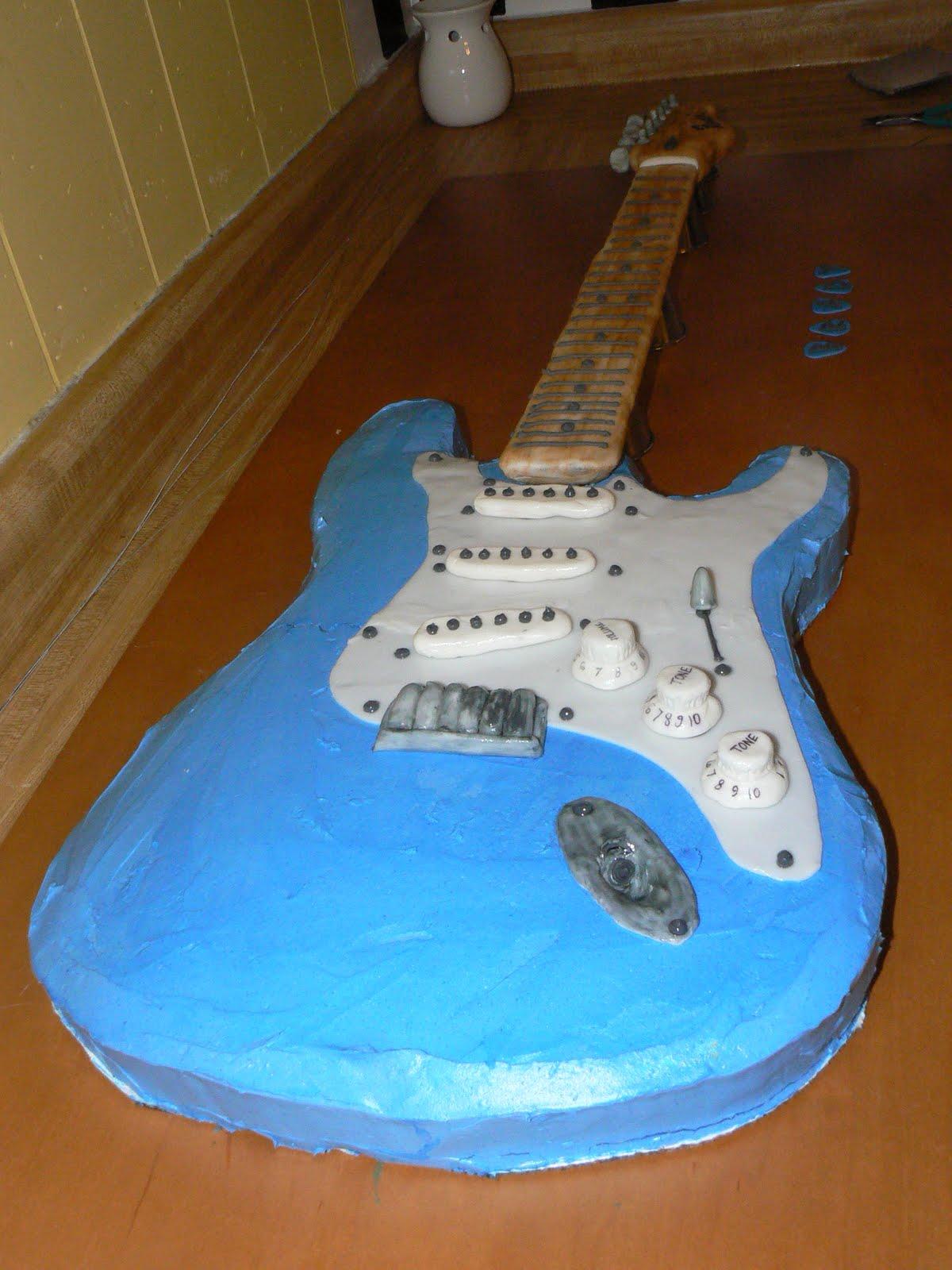 Bake Lore: The Fender Stratocaster - - of Cake