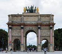 Tempat Wisata Di Perancis - Arc de Triomphe du Carrousel
