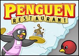Penguen Restaurant Oyunu
