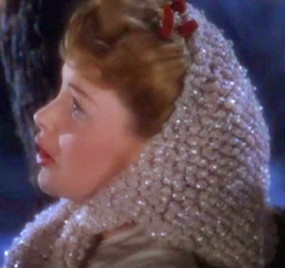 Crochet - Judy Garland Scarf - Meet Me In St. Louis