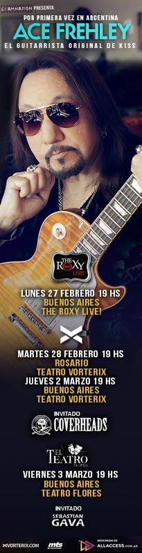 Ace Frehley en Argentina