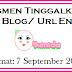Segmen Tinggalkan Url Blog / Url Entry
