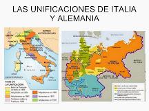 Nacioalismo: Unificación de Italia y de Alemania