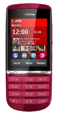 Nokia Asha 300, Harga Nokia Asha 300, Spesifikasi Nokia Asha 300