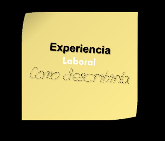 experiencia laboral