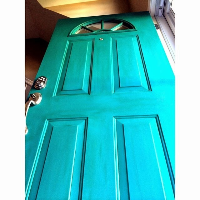 [she painted a turquoise door]  sc 1 st  shesawsparks & shesawsparks: [she painted a turquoise door]
