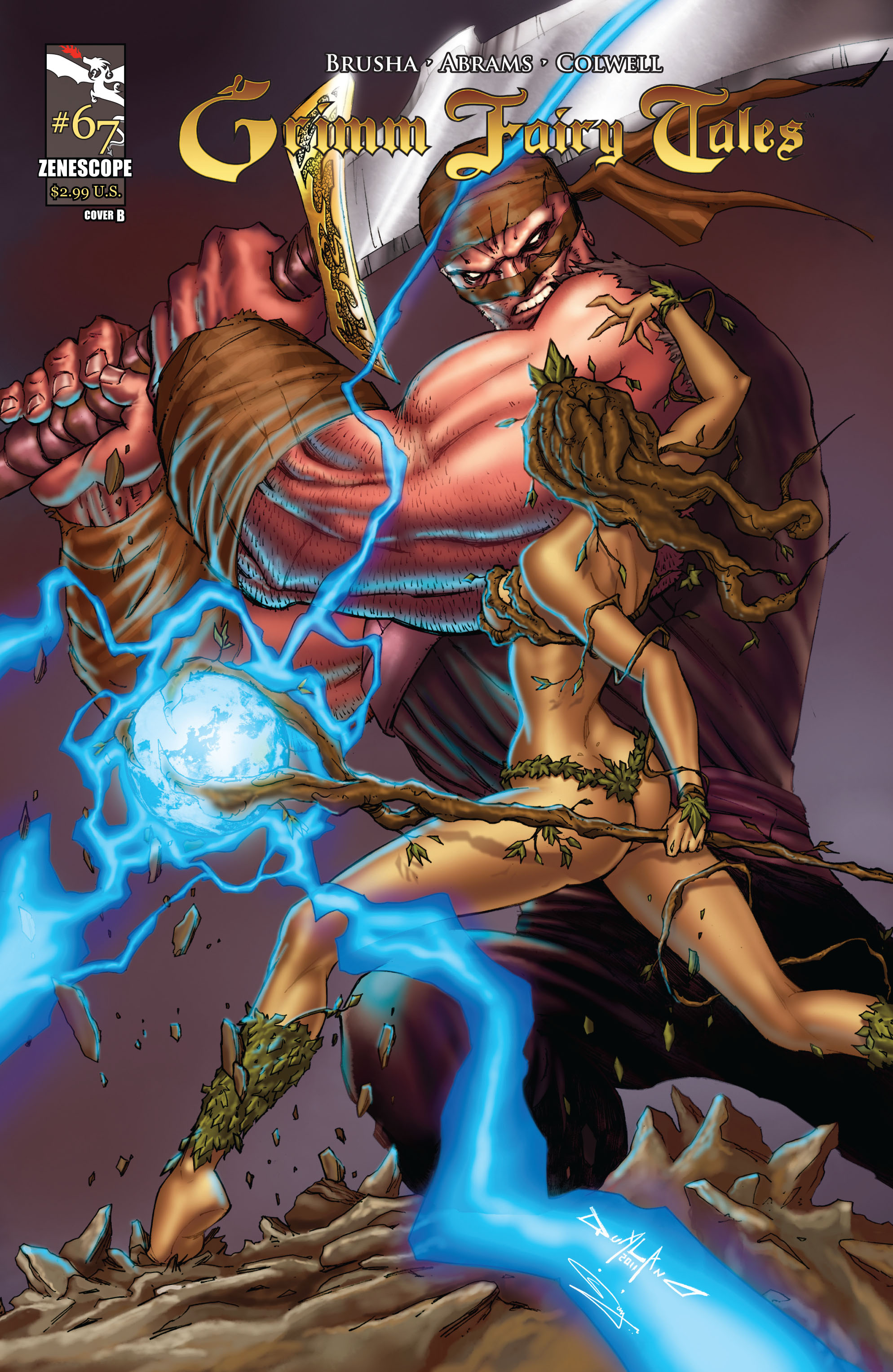 Grimm Fairy Tales (2005) Issue #67 #70 - English 1