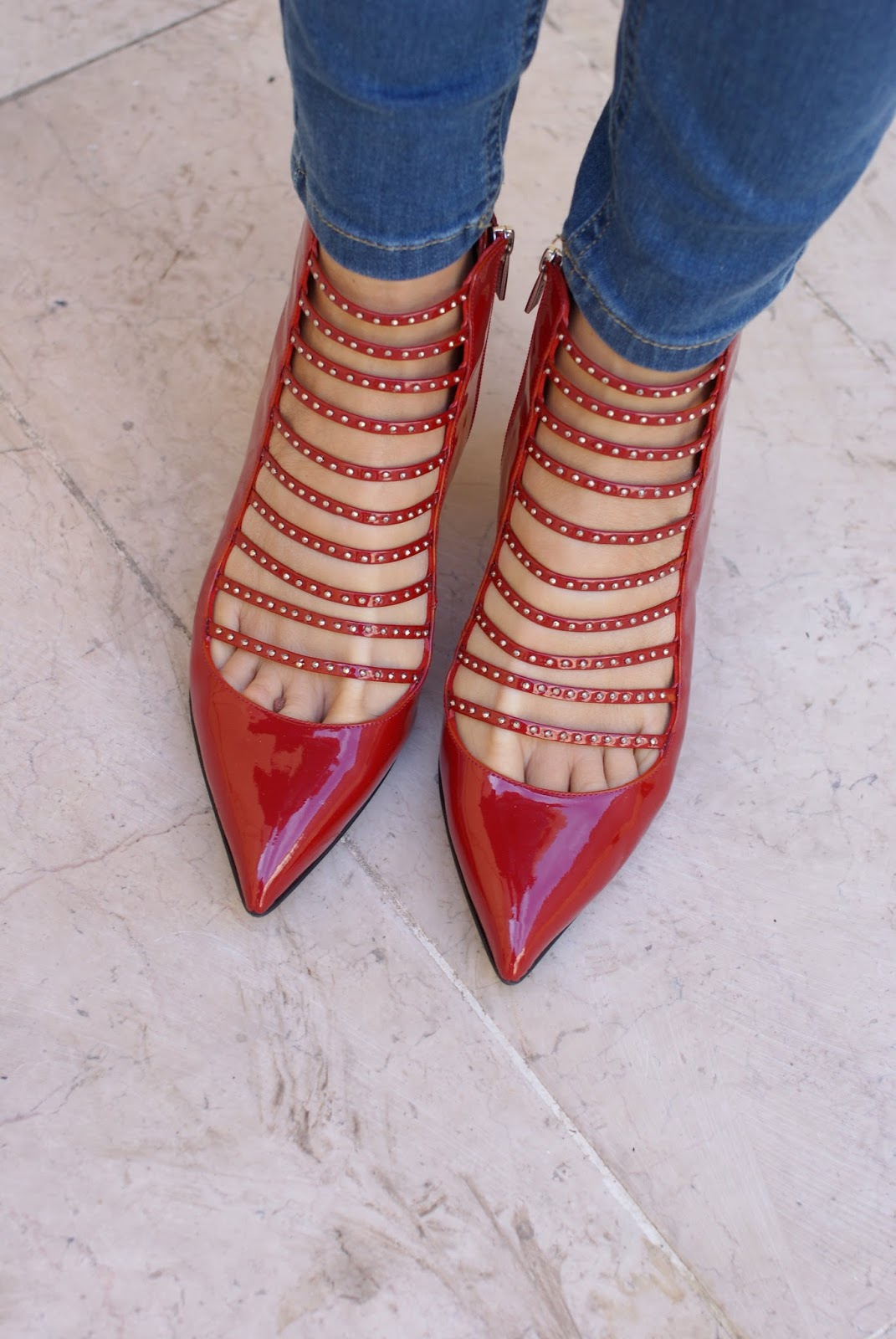 Le Silla scarpe rosse pelle vernice su Fashion and Cookies fashion blog, italian fashion blogger