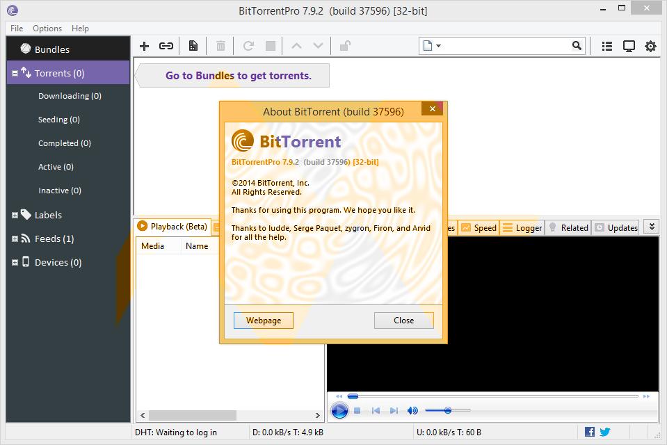 BitTorrent Pro 7.9.2 Final