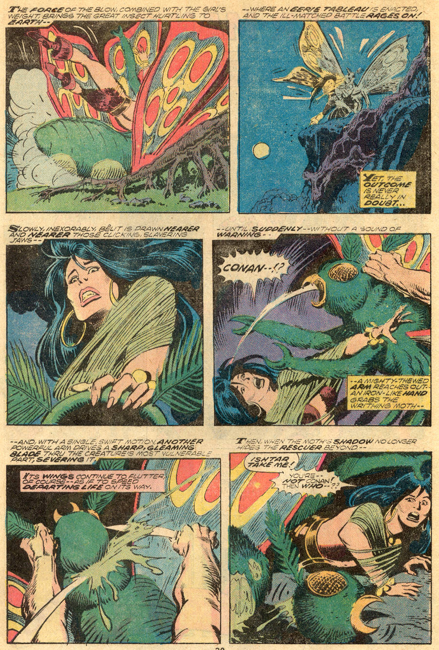 Conan the Barbarian (1970) Issue #61 #73 - English 16