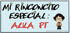 MI RINCONCITO ESPECIAL: AULA PT
