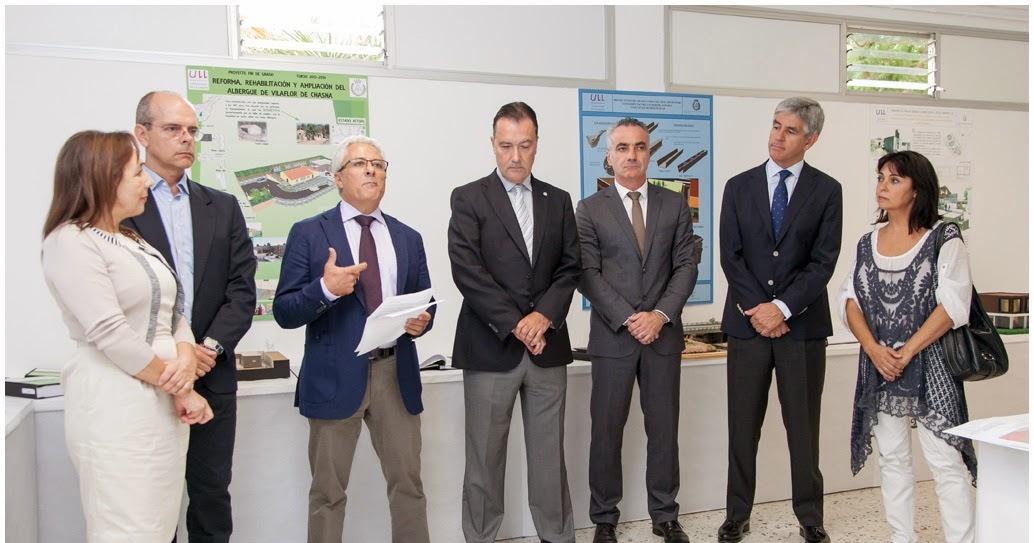 A pie de obra inaugurada una exposici n de los proyectos for Arquitectura tecnica ull