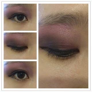 Make-up: Pink Bad Romance Eyeshadows