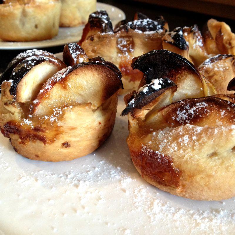 La cuisine claudine tartelettes rigolotes aux pommes for Aux beaux rivages la cuisine