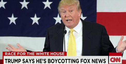 trump boycotting news