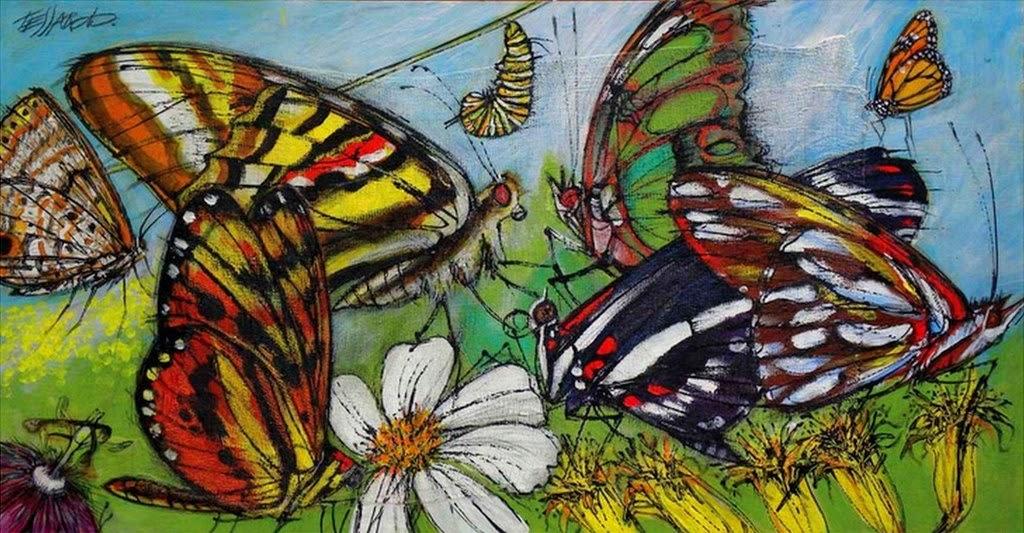 cuadros-de-mariposas-modernos