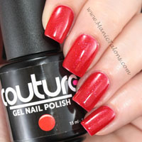 Couture Gel Polish Red Carpet Swatch